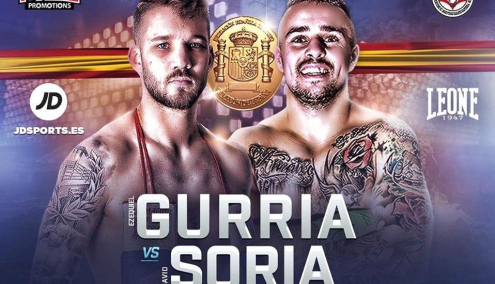 Cartel promocional del Campeonato de España superwélter