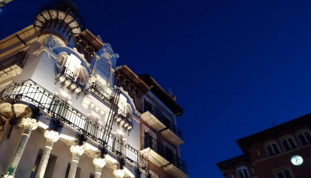 El sol ya se ha escondido en la villa de Teruel