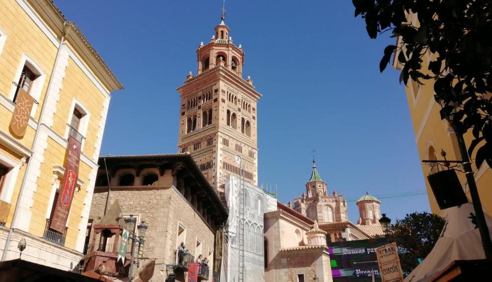 Soleado día en la magnífica villa de Teruel.