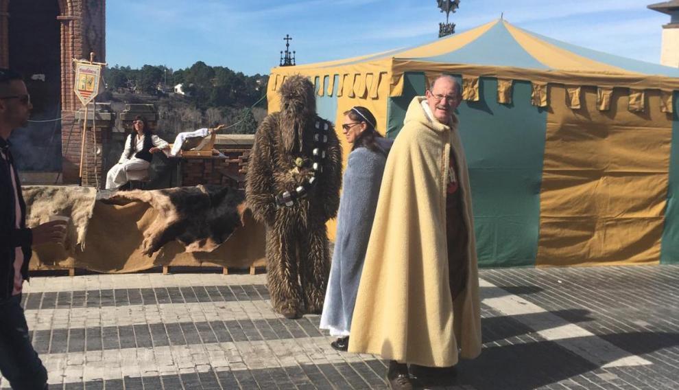 'La guerra de las galaxias' llega a Teruel