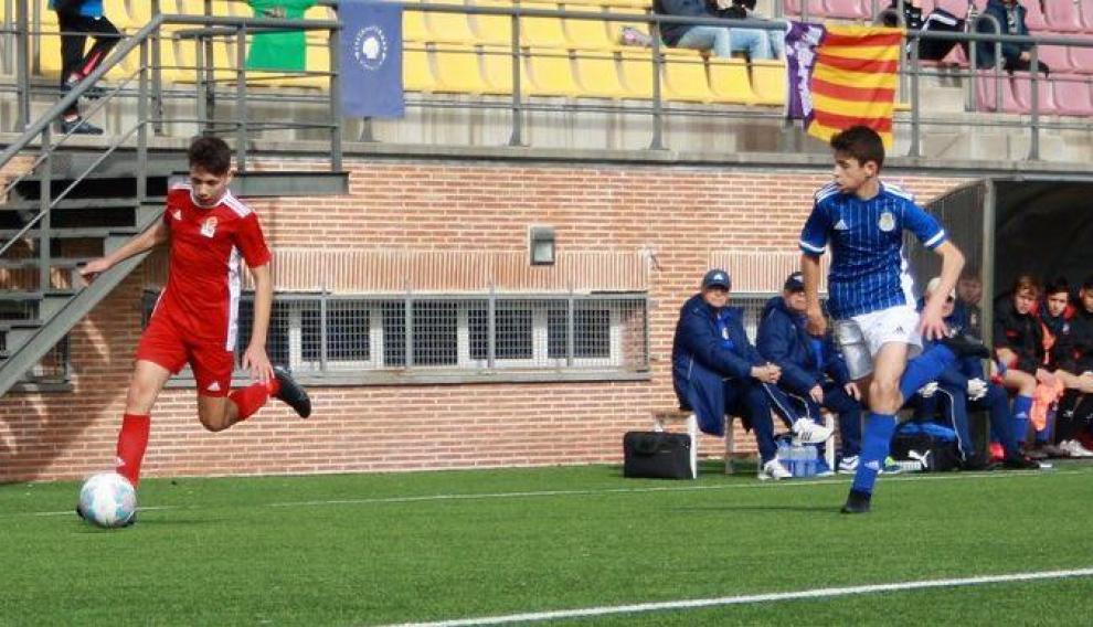 Fútbol. Aragón sub-14 vs. Baleares sub-14.