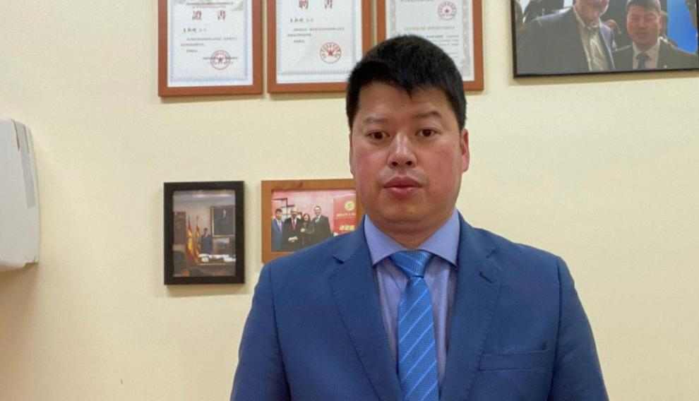 Xinte Wang. presidente de la Asociación de Desarrollo de la Amistad y de Cooperación de España y China.