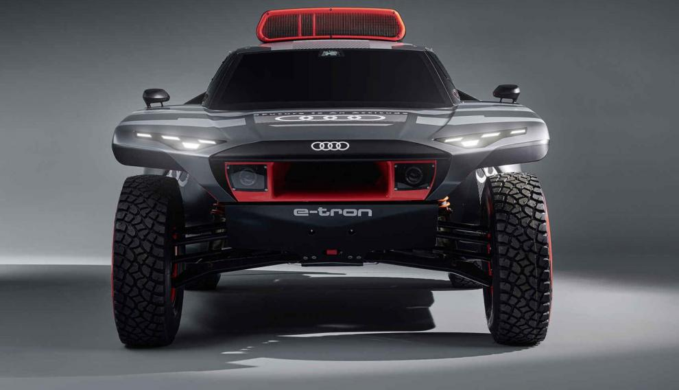 El nuevo coche de Carlos Sainz para el Dakar