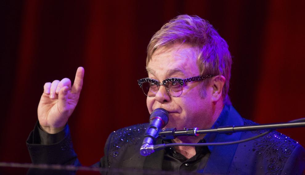 Elton John, encantado con el papa Francisco.