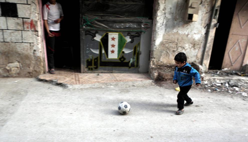 Los niños vuelven a la calle en Siria