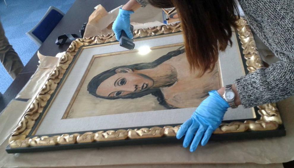 'Cabeza de mujer joven', el cuadro de Picasso que poseía Jaime Botín.