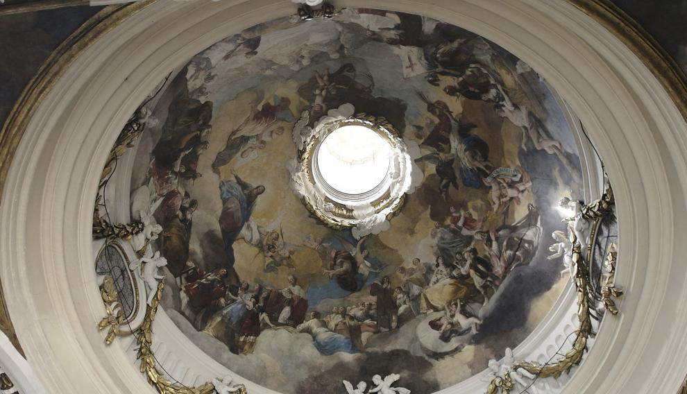 La cúpula 'Regina Martyrum', una obra maestra de Francisco de Goya