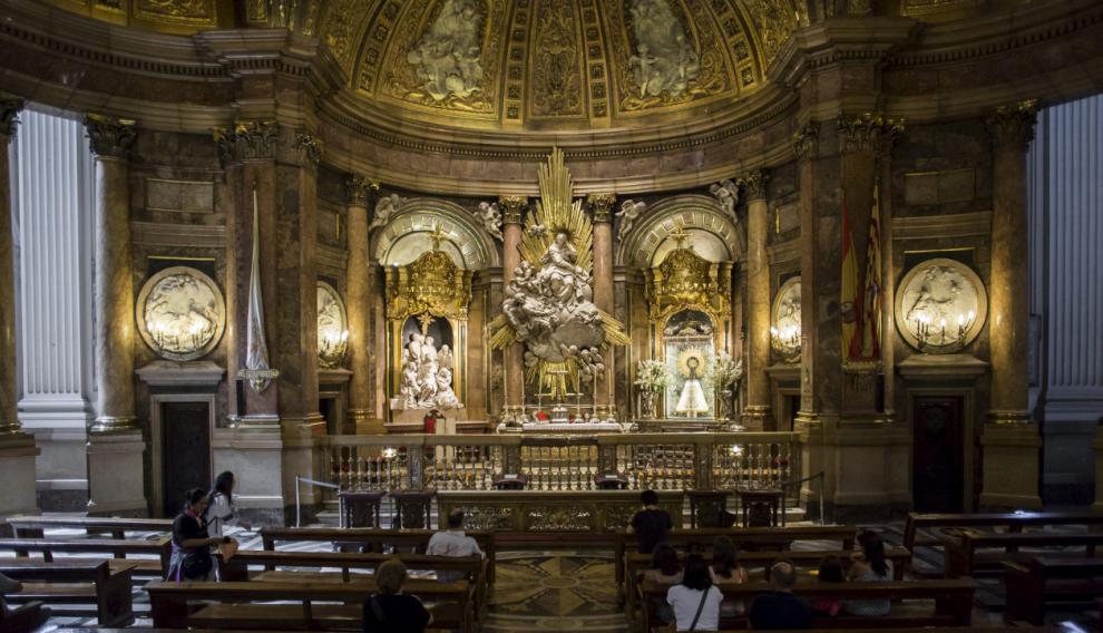 Fotografías de la Santa Capilla de la Basílica de Nuestra Señora del Pilar de Zaragoza