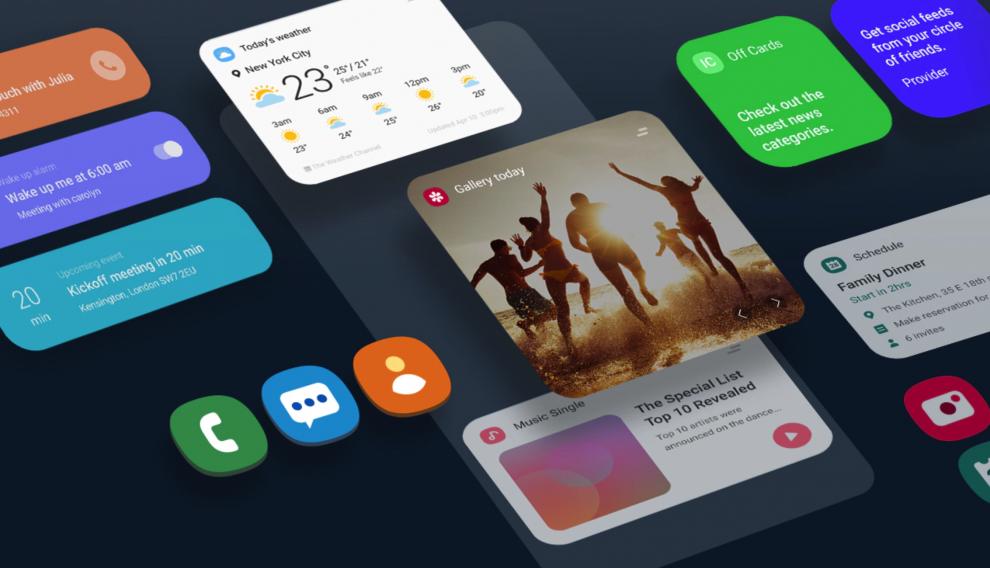 One UI es la nueva capa de personalización de Samsung sobre Android Pie