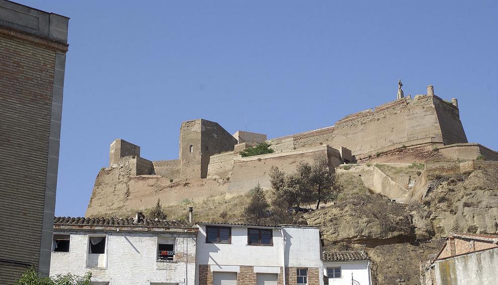 La aljama de Monzón se ubicó a los pies del castillo templario.