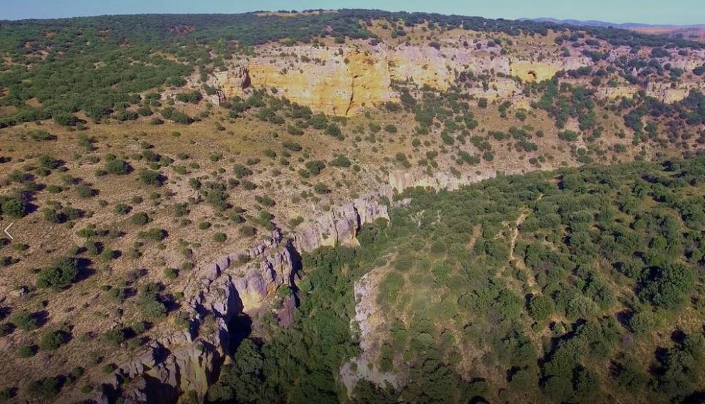 Hoces del río Piedra en Aldehuela de Liestos.