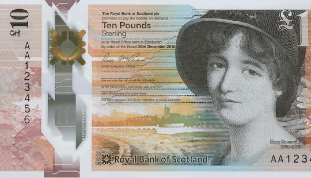 Mary Sommerville, matemática, astrónoma y científica escocesa