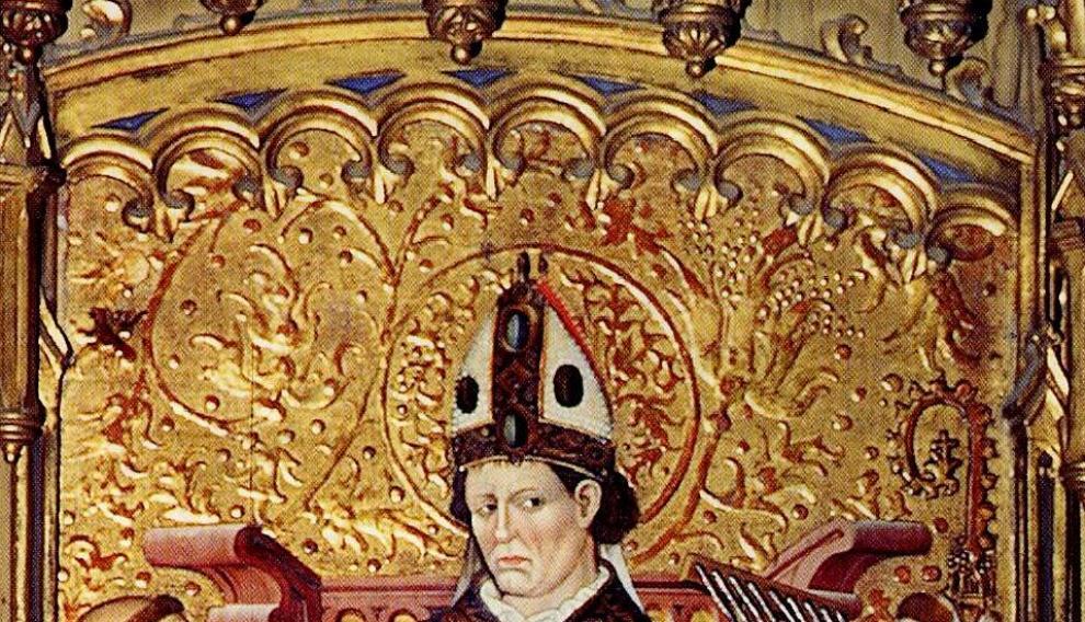 Imagen de la tabla de San Blas.
