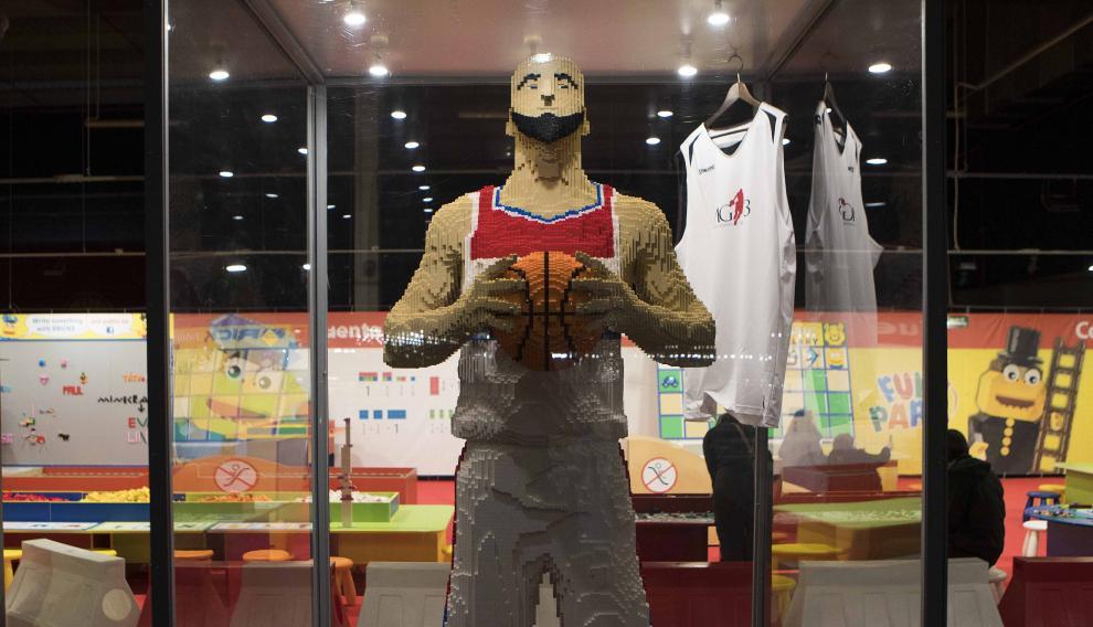 Exposición de Lego en Zaragoza