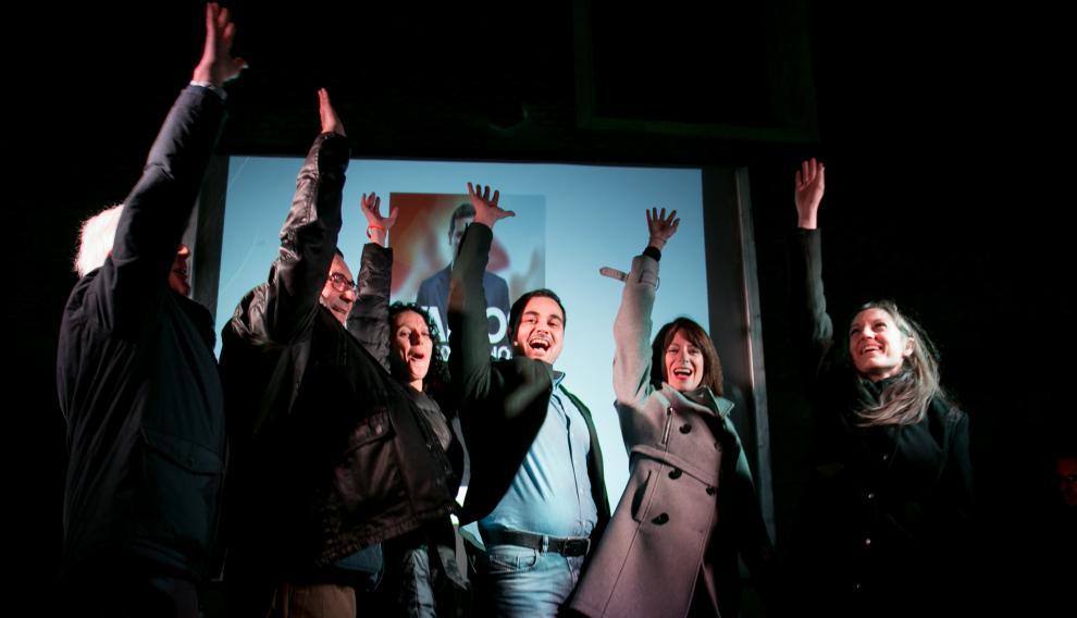 Ciudadanos en su arranque de campaña en Zaragoza