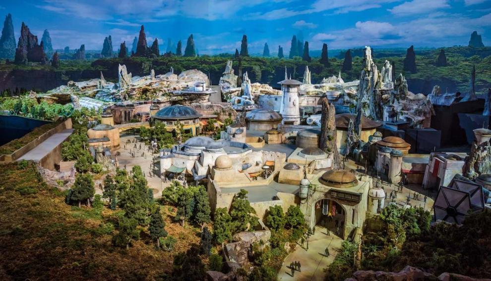 Maqueta del parque, que se abrirá en Florida y Los Ángeles próximamente.