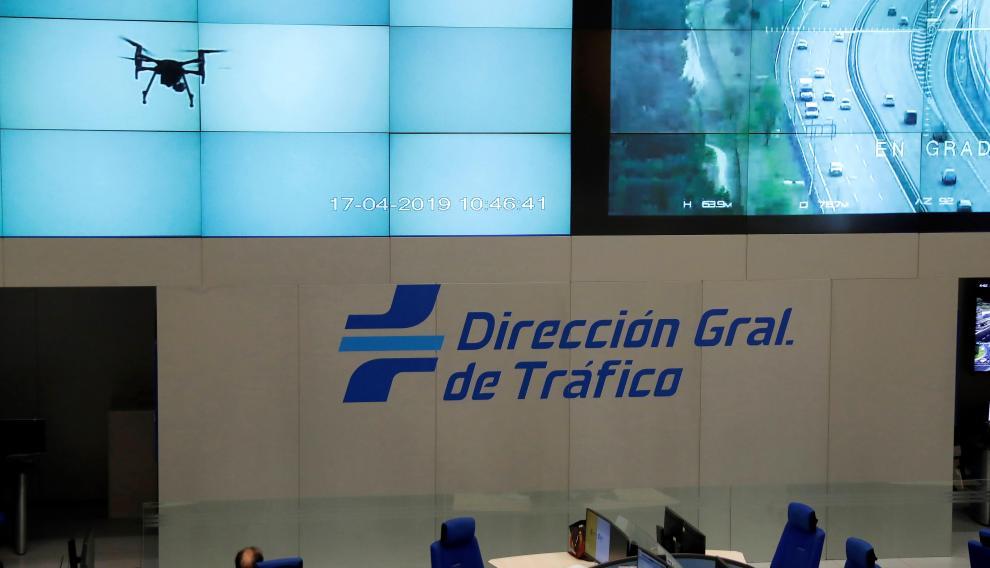 Centro de control de Tráfico de la DGT
