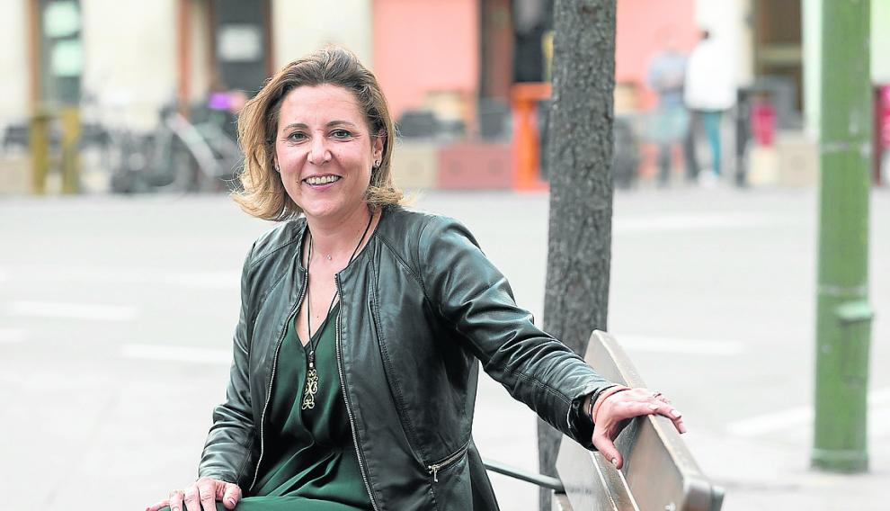 Lourdes Guillén afronta con mucho optimismo su primera experiencia en política.
