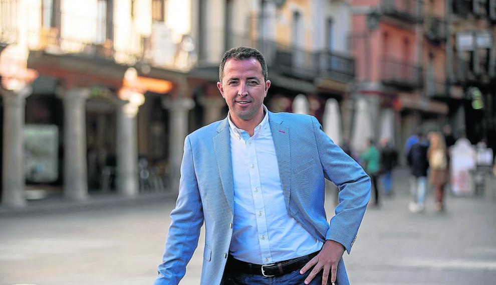 Alberto Herrero, candidato de PP por Teruel al congreso de losdiputados en las proximas elecciones generales