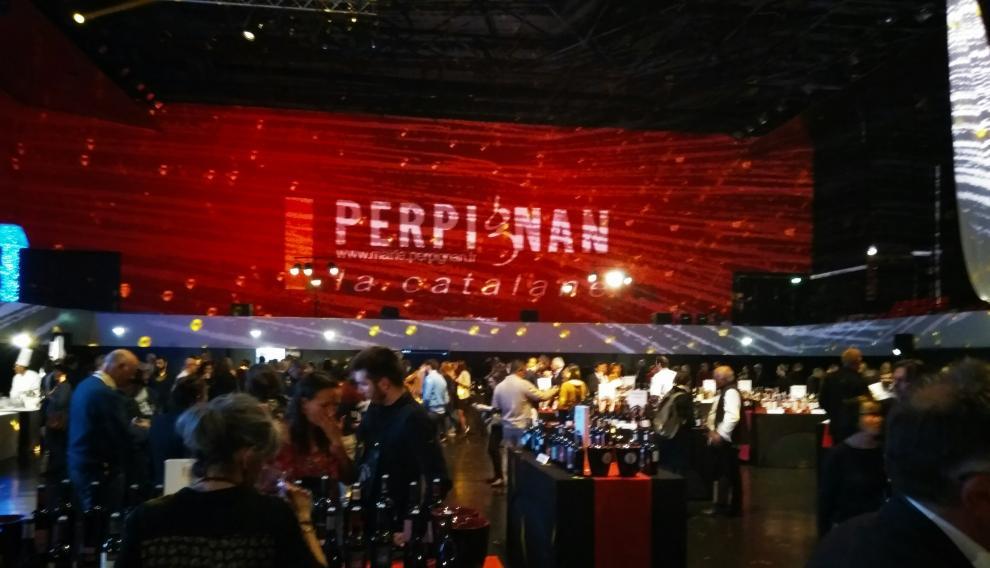 Noche de las Garnachas, celebrada el jueves por la noche en el Palacio de Congresos de Perpiñán.
