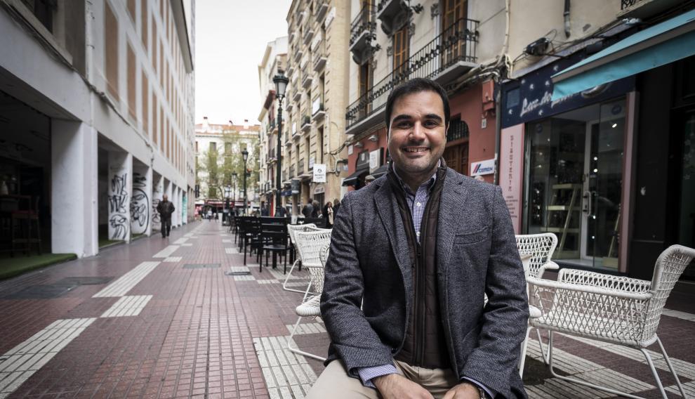 Rodrigo Gómez, cabeza de lista de Ciudadanos al Congreso de los Diputados por Zaragoza.