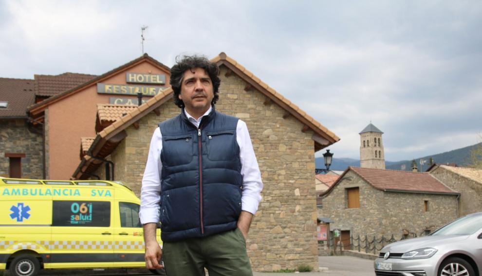 Mario Garcés, candidato del PP al Congreso por Huesca