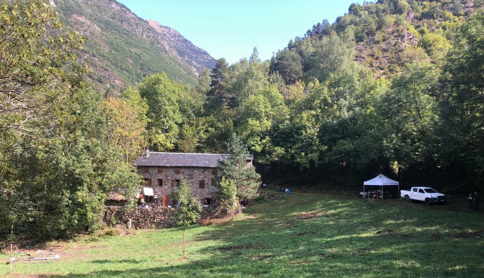 Una de las localizaciones de la serie 'La caza. Monteperdido' en el valle de Benasque