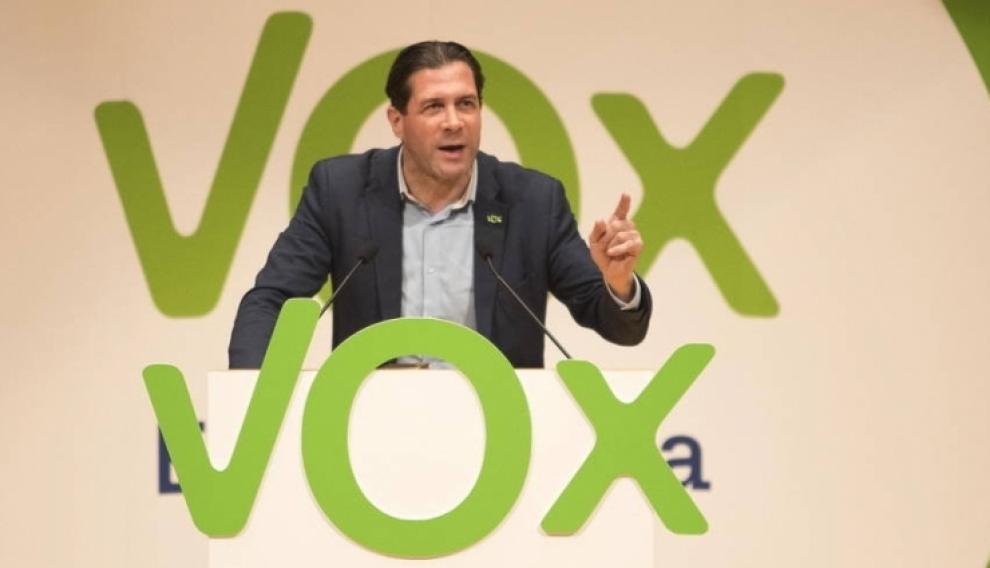 Pedro Fernández, diputado de Vox por Zaragoza