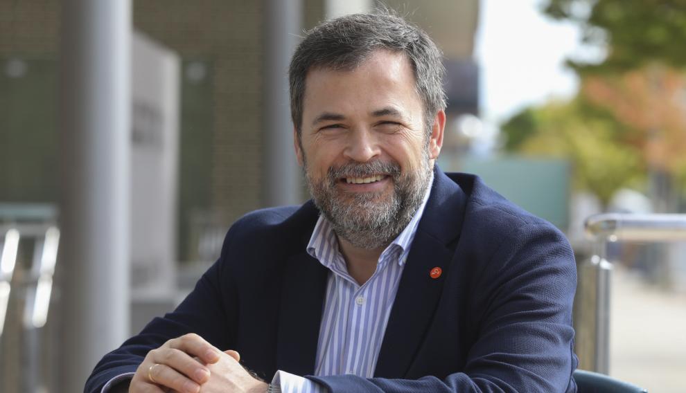 José Luis Cadena, candidato a la alcaldía de Huesca por Cs.