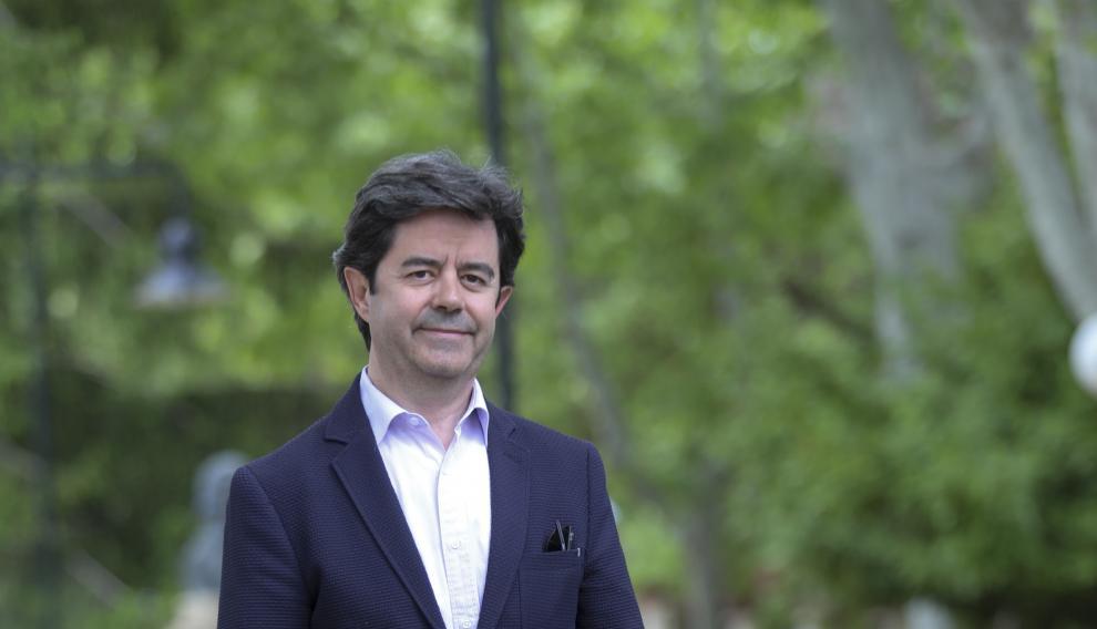 Luis Felipe, candidato a la alcaldía de Huesca por el PSOE.