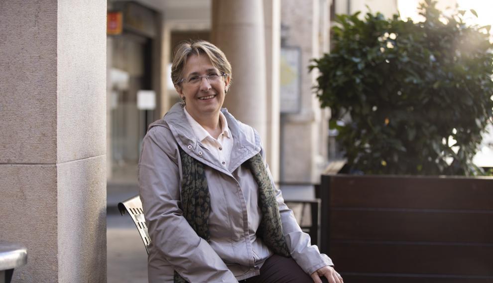 Blanca Villarroya, candidata de Unidas Podemos por Teruel.