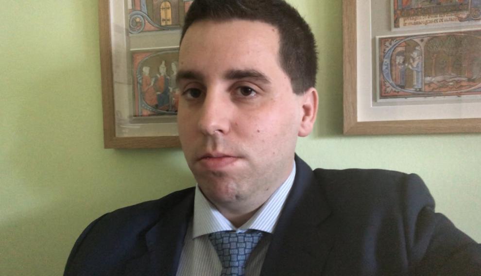 El abogado de la AEGC Jorge Piedrafita.