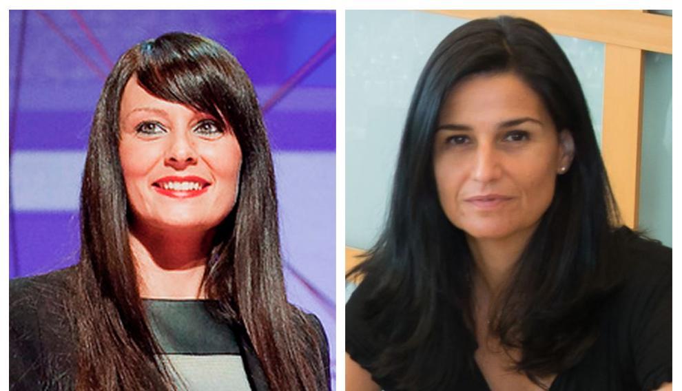 Elena Pascual, directora financiera y de RR.HH de Exafan; y Beatriz Pérez de Heredia, responsable de marketing de una comercializadora de medios de comunicación.