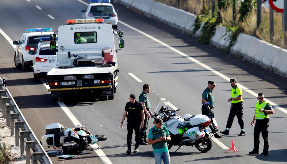 El agente murió en una persecución en Los Barrios (Cádiz).