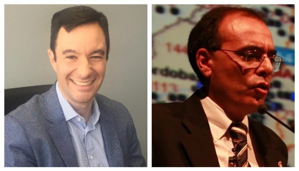 Ricardo Artieda, profesor en CESTE y director de Supply Chain en multinacional farmacéutica, y Fernando Bermúdez, profesor en CESTE y asesor  y experto en logística