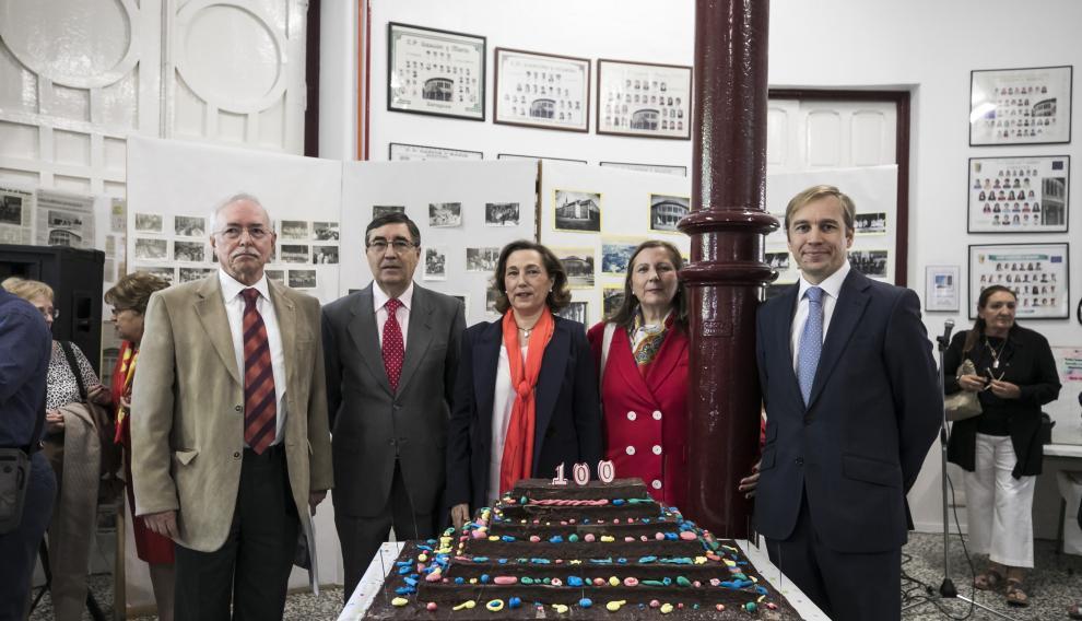 El colegio Gascón y Marín cumple cien años.