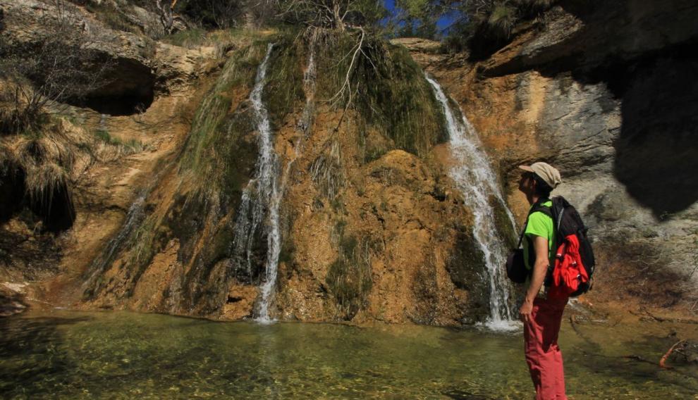 Los Caños de Gúdar y sus cascadas.