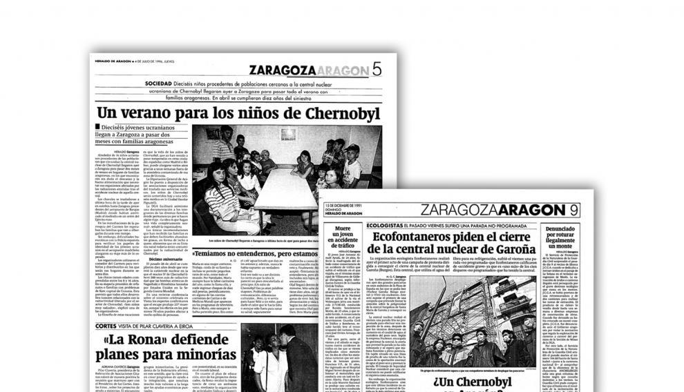 Algunas de las noticias que se publicaron en HERALDO sobre las consecuencias de la tragedia