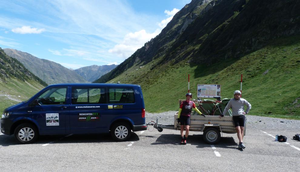 El servicio de transporte de bicicletas en el túnel de Bielsa será gratuito y no hará falta hacer reserva.