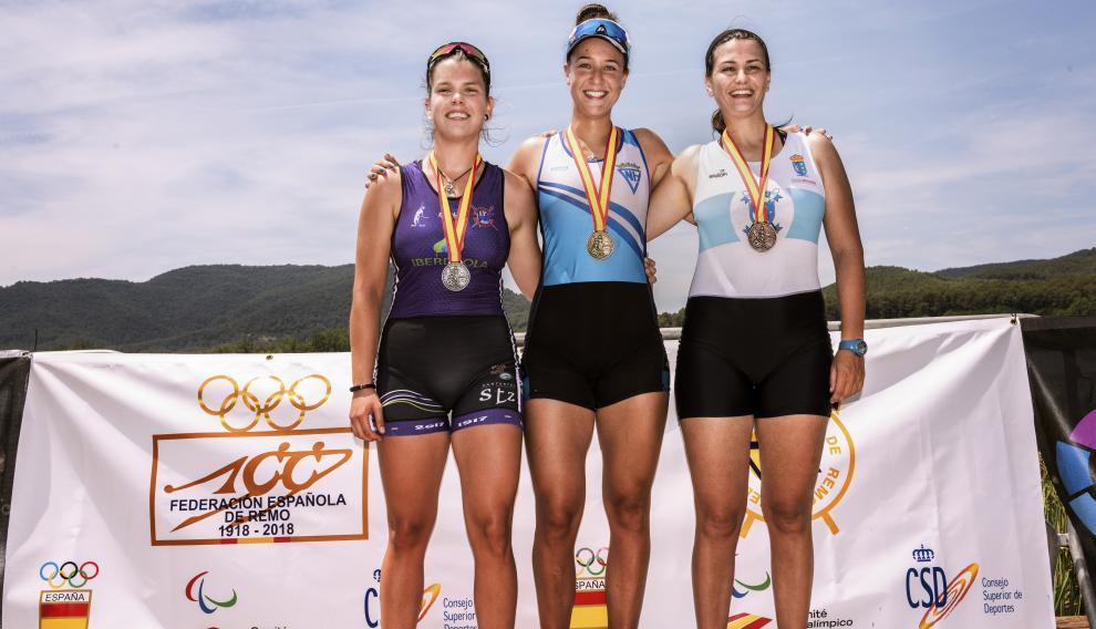Esther Briz conquistó su primer oro absoluto nacional. Plata fue Izaskun Etxaniz (Itsasoko Ama) y bronce Esmeralda Santos (CR Do Miño)