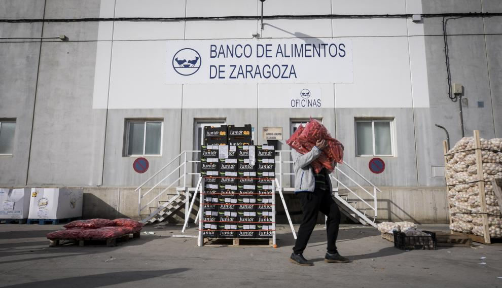 Banco de Alimentos de Zaragoza.