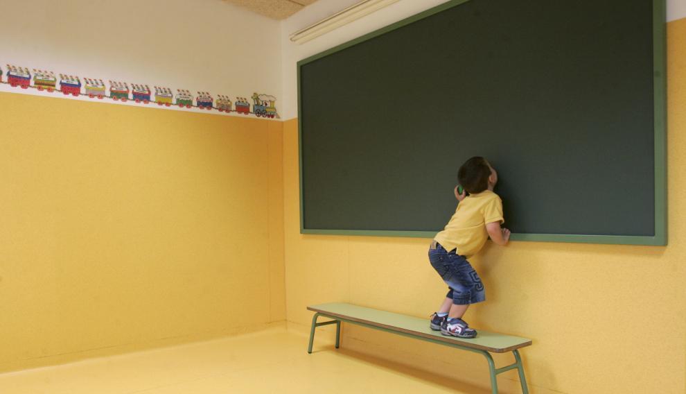 En Aragón, un 8,2% de los escolares residen en pequeños núcleos de población.