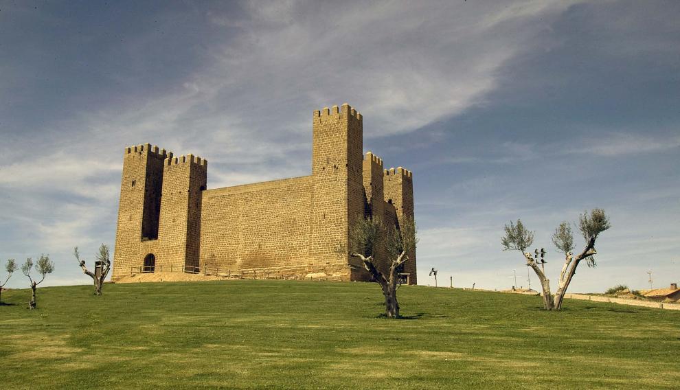 Castillo de Sádaba.