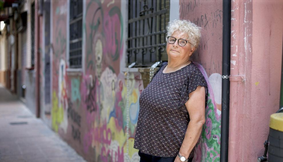 Conchi Arnal fundó la primera asociación de lesbianas en Aragón y es activista por los derechos de la mujer y del colectivo desde hace 40 años.