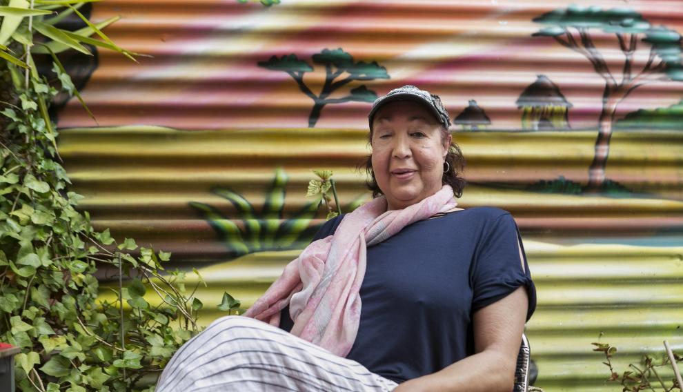 Miryam Amaya formó parte de la primera manifestación LGTB+ en España, en 1977 en Barcelona