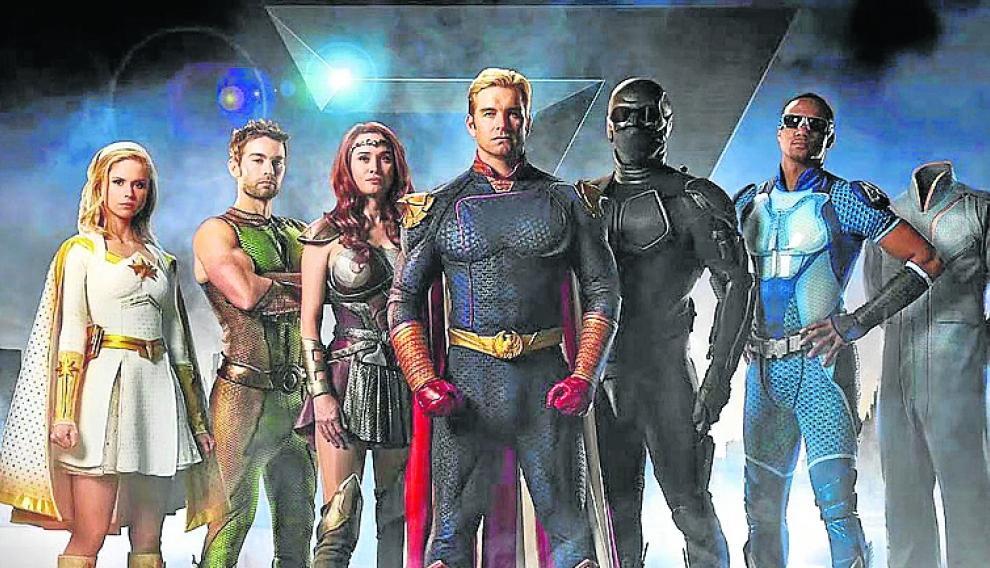 'The boys' es la serie de superhéroes de Amazon que se estrena el 26 de julio.
