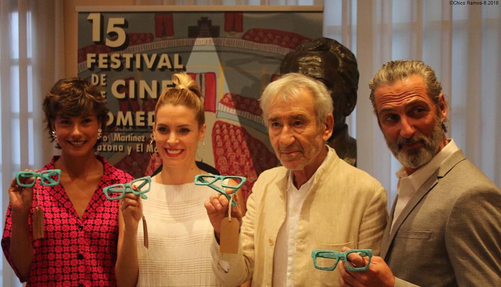 Galería de famosos del cine español en el festival de Tarazona del año pasado.
