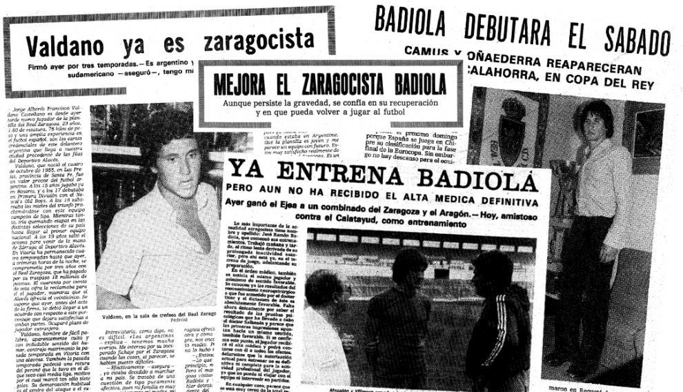 Valdano y Badiola, cara y cruz de la tragedia
