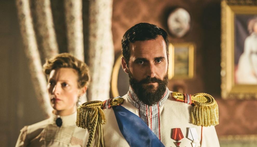 Recreación de Netflix de la familia real rusa