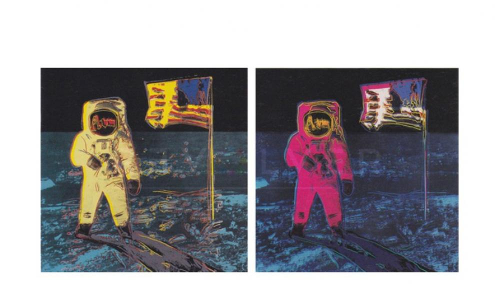 Moonwalk, Andy Warhol, 1987.